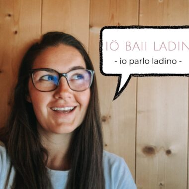 Iö baii ladin io parlo ladino