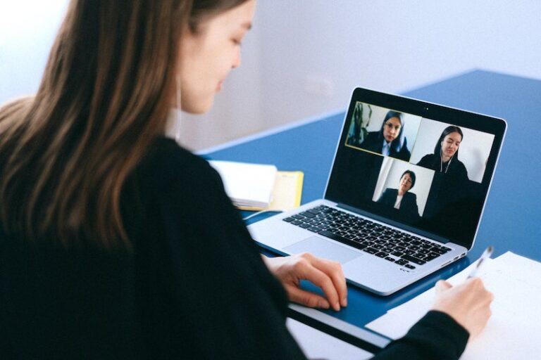 videoconferenza con webcam