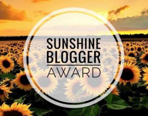 logo sunshine blogger award