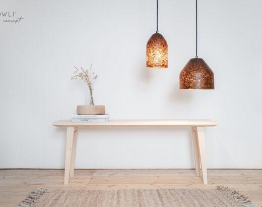 lampade e tavolino slowli